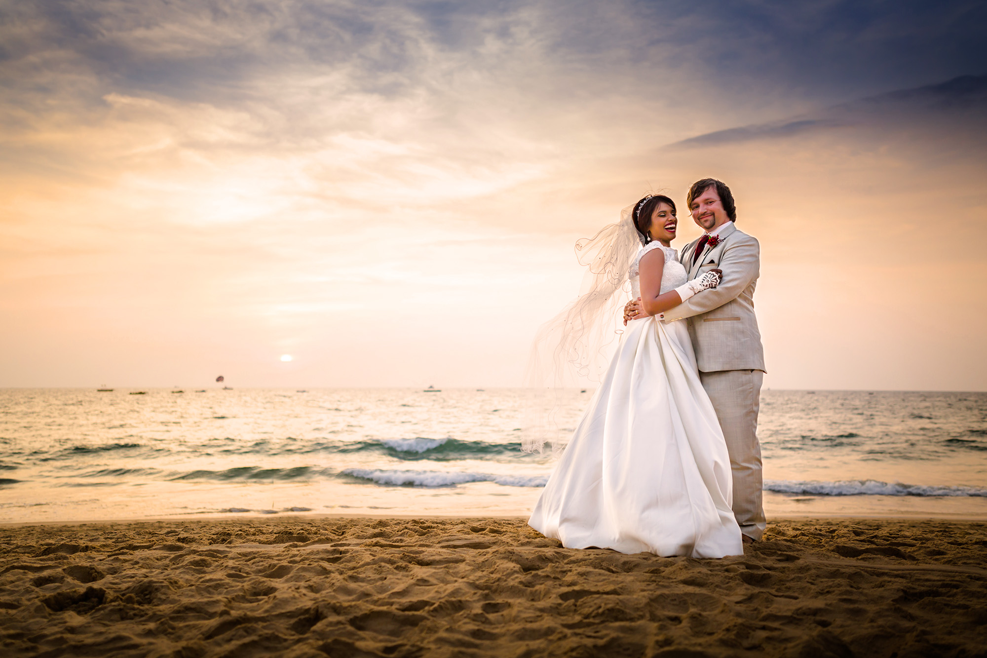 Minella & Tom | Goa Church Destination Wedding